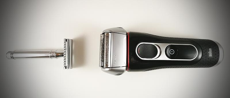 electric-vs-traditional shaving